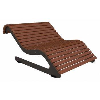 Парковый лежак «ньютон» 2104 мм