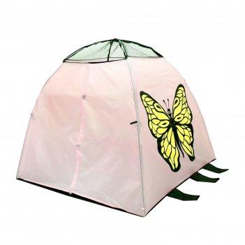 Палатка детская игровая бабочка с туннелем