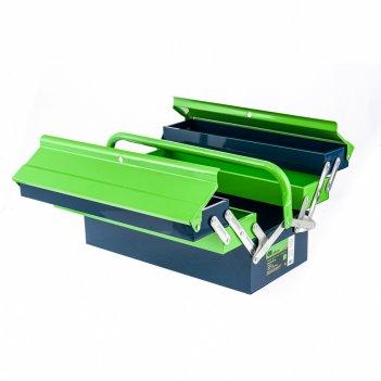 Ящик для инструмента, 430 х 200 х 200 мм, пять секций, металлический сибрт
