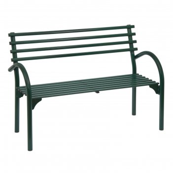 Скамейка со спинкой беседа 3 (зел)