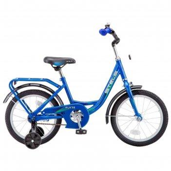 Велосипед 16 stels flyte, z011, цвет синий