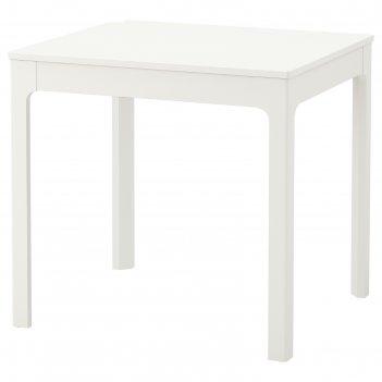 Раздвижной стол экедален, 80-120x70 см, белый