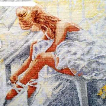 Набор для вышивания балерина