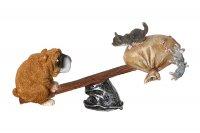 Фигурка собака 22*7*10 см.
