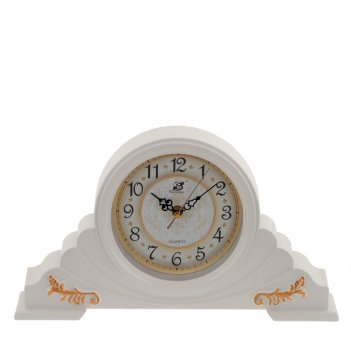 Часы настольные декоративные , l39 w7 h22 см, (1хаа не прилаг.)
