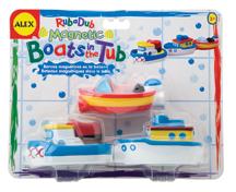 Магнитные лодки (3шт.). игрушки для ванны