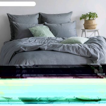 Кпб 1,5 сп, размер 180x215 см, 148x210 см, 50x70 см-2 шт, indigo