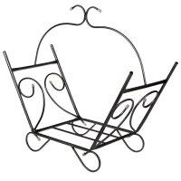 Дровница «1009» цвет серебристый антик