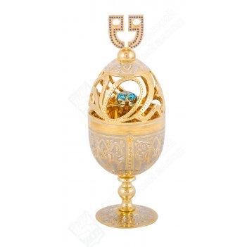 Яйцо сувенирное фаберже златоуст