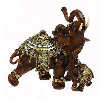 Фигурка декоративная слоны 25*13*23см (уп.1/6шт.)
