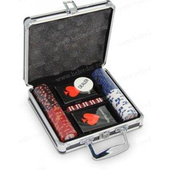 Набор для игры в покер на 100 фишек casino royal