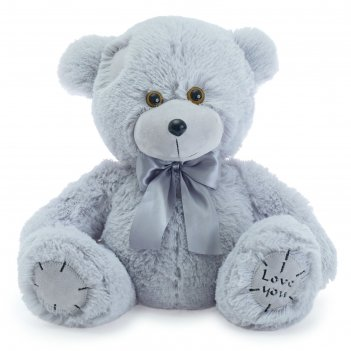 Мягкая игрушка «медведь тед», 50 см, цвет пепельный