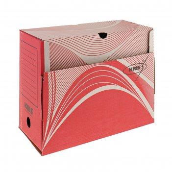 Короб архивный а4, 150 мм микрогофрокартон, kris, микс