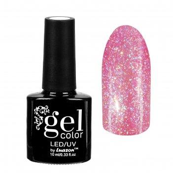 Гель-лак для ногтей горный хрусталь, трёхфазный led/uv, 10мл, цвет 006 роз