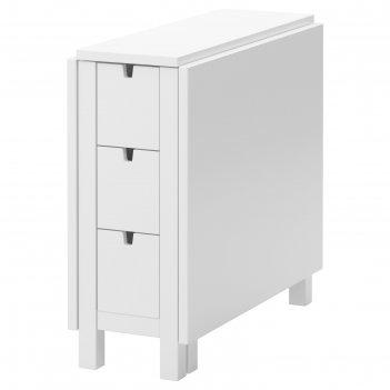 Стол складной норден, белый, 26/87/148x80 см