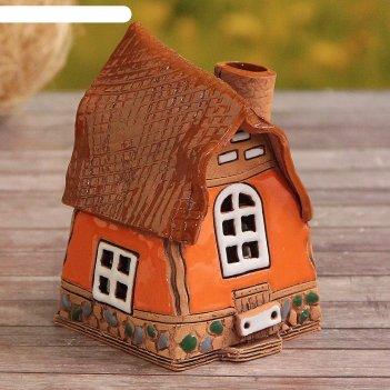 Аромалампа домик «забава», малая, 9 см, ручная работа  микс