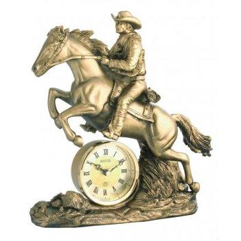 Скульптурные часы из полимерных смол восток к4512-1