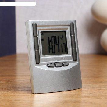 Часы  электронные  альтаир 1 ааа 7.5х9 см