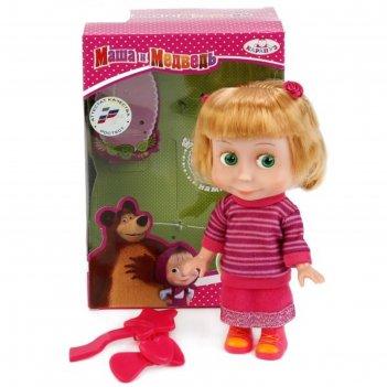 Кукла маша в свитере, с аксессуарами, звуковые функции, 15 см