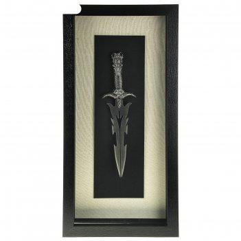 Сувенирное изделие в раме, багет классика, меч 40*80см