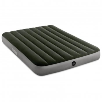 Матрас надувной prestige downy bed, 152 х 203 х 25 см, насос на батарейках