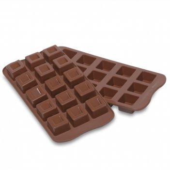 Форма силиконовая для приготовления льда и шоколада кубики,