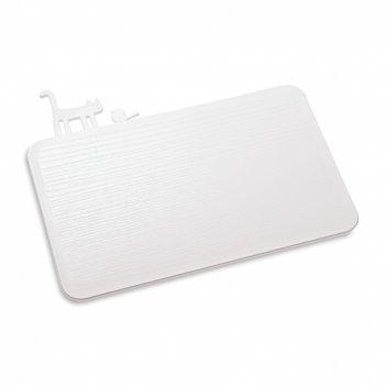 Доска разделочная, размер: 30 х 25 см, материал: полипропилен, цвет: белый