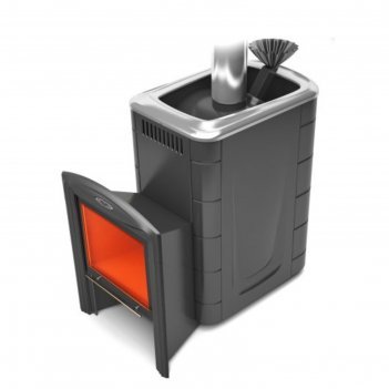 Печь для бани тмф гейзер 2014 carbon витра, закр.каменка, антрацит, , шт