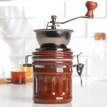 Кофемолка «бодрость», керамический механизм