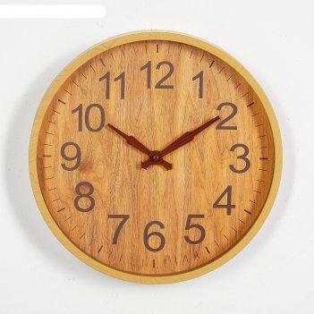 Часы настенные, серия: классика, лангон, 30х30 см