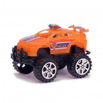 Машина инерционная «патруль», цвета микс