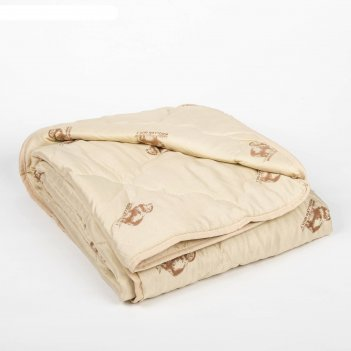 Одеяло облегчённое адамас овечья шерсть, размер 140х205 ± 5 см, 200гр/м2,