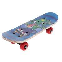 Скейтборд нв-036, размер 44x14 см, колеса pvc d= 50 мм