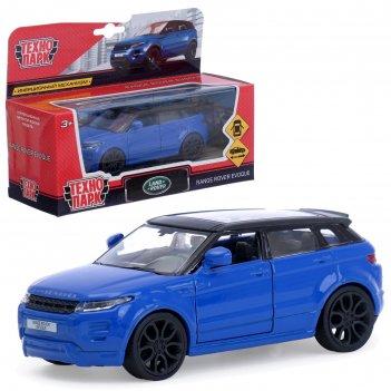 Машина металлическая land rover range evoque синяя  12,5см,открыв. двери,и