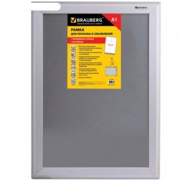 Рамка для рекламы и объявлений настенный, а1 594х841мм, алюминиевый профил