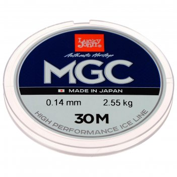 Леска моно. зим. lucky john mgc 30 м, 0,14 мм