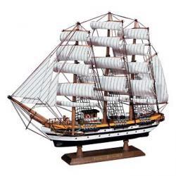 Модель парусного корабля америго веспуччи ,88*61см