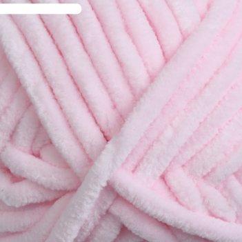 Пряжа dolce 100% микрополиэстер 120м/100гр (750 нежно розовый)