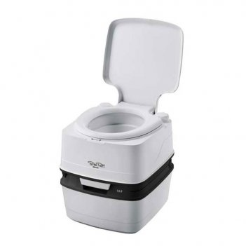 Биотуалет porta potti qube 165 grey (серый)