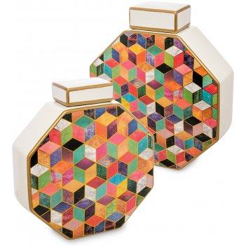 Ig-102 ваза декоративная мозаика (набор из 2 шт.)