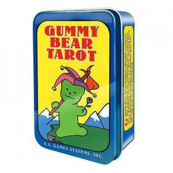 "Карты таро: ""gummy bear tarot deck in a tin"""