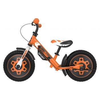 Беговел с 2 тормозами small rider roadster sport 4 eva (оранжевый)