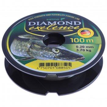 Леска моно. salmo diamond exelence 100м 0,20мм