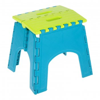 Табурет-подставка складной моби  бирюзовый