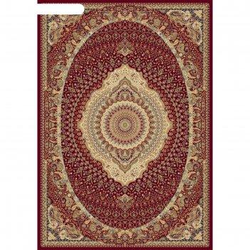 Прямоугольный ковёр buhara d426, 240 х 330 см, цвет red