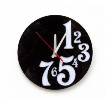 Часы работа до семи   cl128 26х26см