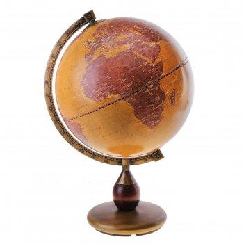 Глобус настольный открытия, d 33 см