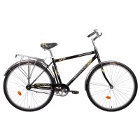 Велосипед 28 forward dortmund 1.0 rus, размер 19, цвет: черный