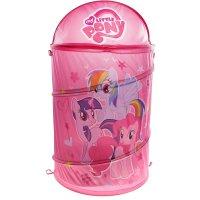 Корзина для игрушек my little pony с крышкой, цвет розовый