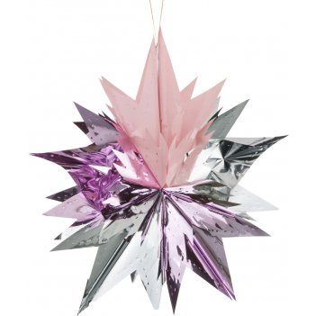 Декоративное изделие подвес звезда 60 см.